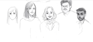 PARKS AND REC - WIP by TheProfaneComedy