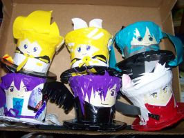 Character Hats DUCT TAPE by Mitsukai-freak-527