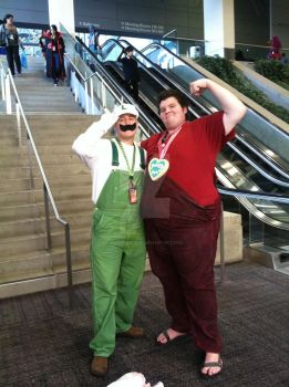 Underdogs of the video game world @ Sacanime 2013 by hoodoosteve