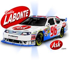 Bobby Labonte 2009 Ask.com For by Veeyo