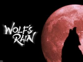 Wolf's Rain RED MOON by MrBro