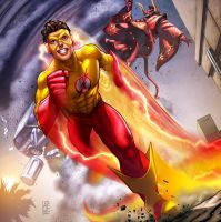 Kid Flash by AdmiraWijaya