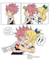 NaLu Comic - Unexpected glomp! by Agufanatic98