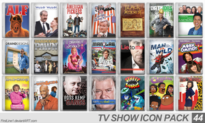TV Show Icon Pack 44 by FirstLine1