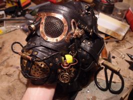 Steampunk mask by ChanceZero