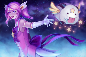 Star Guardian Lux by Mynxuu