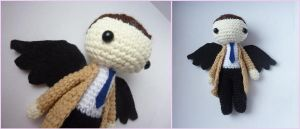 Castiel from Supernatural - amigurumi chibi toy by Ulvkatt