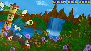 Green Hill Zone - Sonic 1 by Gotetho