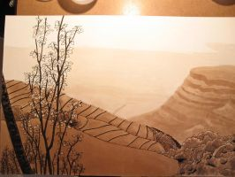 Paysage, WIP3 by Dathamir