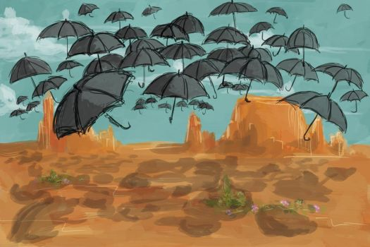 rainproof desert by DougalsMcMuffinPants
