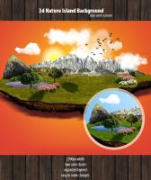 3d Nature Background by snmsnl