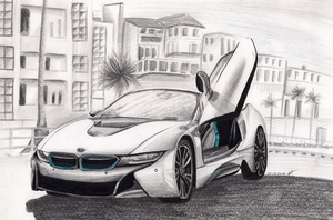 BMW i8 by Wojak1991
