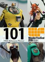 Free Photo Pack: Wonder Festival 2016 by andrewley