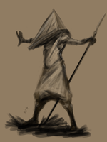 Pyramid-Head by Greenstuff-Alex