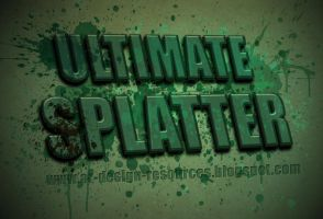 Ultimate Splatters by FakeFebruary