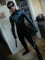 EPIC Nightwing (Batman) Custom costume =) by CpCody
