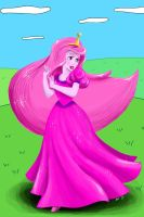 Princess Bubblegum Disney-fied by Sugarsop