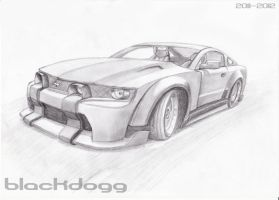 Ford Mustang Carbon by blackdoggdesign