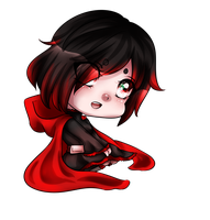Ruby Rose Chibi by MikomiKisomi