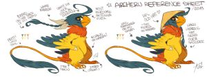 Archeru Reference Sheet 2013 by Aishishi