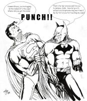 Batman Pwns Superman by IronMaiden720