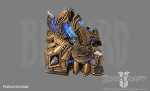 SC2: Protoss Gateway by PhillGonzo