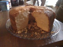 A pound of Cake by annieheart12
