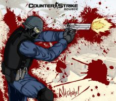 Counter Strike source...Blood by natanaelmt
