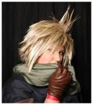 Cosplay: Cloud - A Little Shy by Dashykins