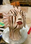 Lionfish woman 1 by Fire-Redhead