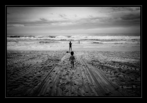 The Great Days in The Sand by damien-c-photography