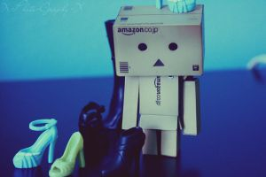 Danbo isn't a Girl? by FierySoup