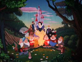Snow White Mural by Fulvio84
