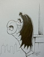 Batman gargoyle by SethWolfshorndl