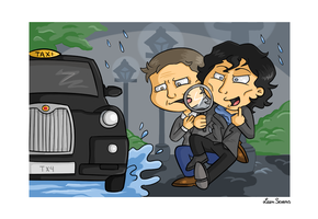 Sherlock by Leenspiration