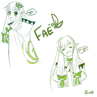 Fae Doodles by Reverrii