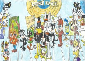 LT: The Bugs B. and Tweety Show as remake version by FelixToonimeFanX360