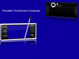 Portable touchscreen computer by rjoshicool