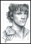 Jared's signed drawing by Cataclysm-X