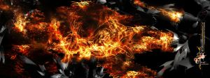 4th element - fire burn by roder