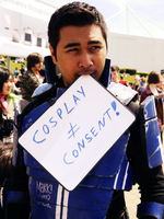 Kaidan Alenko MK2 Cosplay Doesn't Mean Consent by ManticoreEX