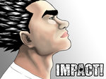 IMPACT! - Experimental Cover Art - Coloring 2 by Max-Manga