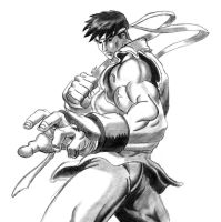 Street Fighter Ryu by MDTartist83