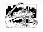 Shadowrun Car of death by squinkyproductions