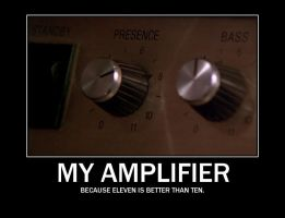 My amplifier, from Spinal Tap by Aiseant