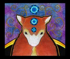 Huon Tree Kangaroo as Totem by Ravenari