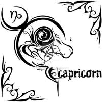 Zodiac Sign Tattoo : Capricorn by MPtribe