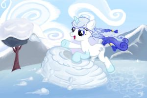 Stellar Crystal Snowballfight by rtry