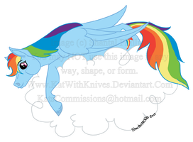 Mlp my style - Rainbowdash by KatWithKnives