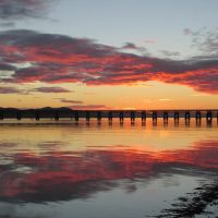 Tay Rail Bridge, Scotland by Somnp